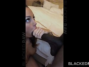 BLACKEDRAW Abigail Mac's hubby Sets Her Up With biggest big black cock In The World