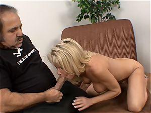 Bridgett Lee vulva ate by Ron Jeremy