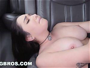 BANGBROS - big boobies pornstar Karlee Grey on pound Bus