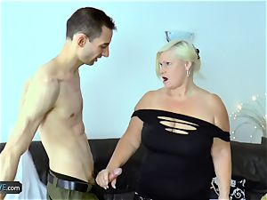 EuropeMaturE Milena Geting super-naughty During cool have fun
