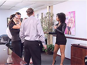 Getting kinky in the office part 1