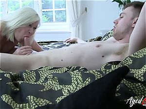AgedLovE gonzo with red-hot Mature Lacey Starr