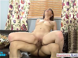 horny Nickey Huntsman slurped out before fellating and romping