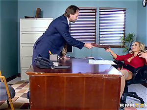 How to penetrate in the office with Olivia Austin