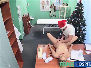 FakeHospital doctor Santa spunks twice this yr