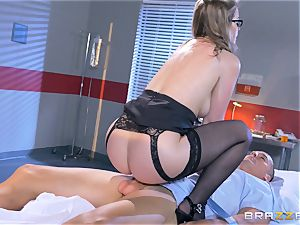 kinky doctor Sunny Lane gets hold of her favourite patient