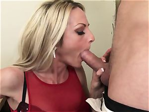Russian employee Exploited for fuckfest By red-hot mummy chief
