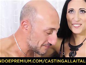 casting ALLA ITALIANA - filthy novice rectal casting