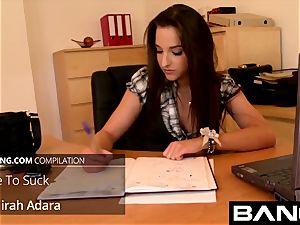 diminutive Hungarian Amirah Adara pound bevy Vol 1