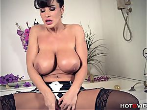 thick, Soapy milk cans cougar Lisa Ann
