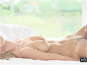 Natalia Starr having romantic orgy with Johnny Sins