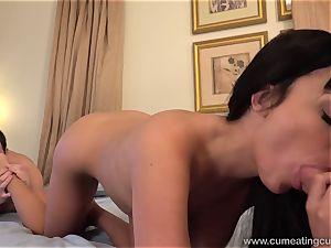 Anissa Has Her husband gargle manmeat While She pounds