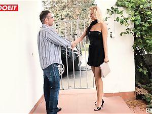 LETSDOEIT - super hot secretary romped gonzo At audition