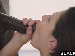 BLACKED.com foursome plumb with 2 super-fucking-hot Brunettes