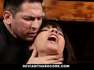 DeviantHardcore-Hot milf touched and handcuffed To Cross