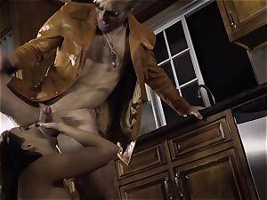 Spoiled pt 2 Chanel Preston gets her super-steamy slit handled