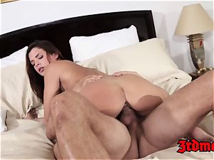 Keisha Grey Gets pounded By a fat man sausage