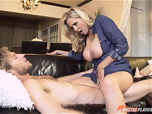 Julia Ann cooch filled on mothers day