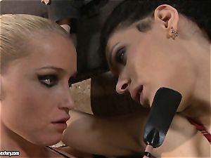 Kathia Nobili torturing a crazy college female