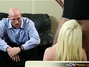 HDVPass immense bap Nurse Alexis Ford rides bone