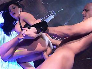 Audrey Bitoni gets her super hot slit filled with spunk-pump