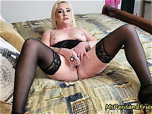 auntie Paris seduces Her step-sister