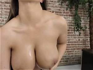 busty hottie Brooklyn pursue point of view pulverize
