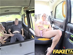 faux cab gigantic hooters towheaded Michelle Thorne