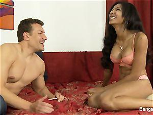 Exotic ultra-cutie Sadie Santana covets a internal cumshot
