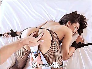 Exotic4k brazilian Adrian Hush bound up pound and internal cumshot
