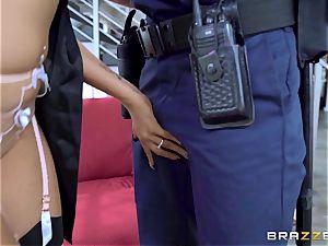 Romi Rain unusual desire getting plumbed by the policeman