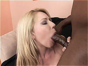 foolish mega-slut gets boned foolish by a big black cock