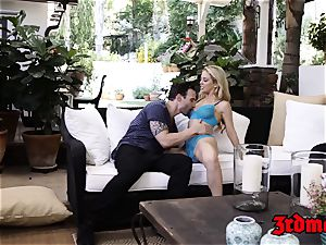 huge-titted platinum-blonde milf Cherie Deville Gets beaten firm