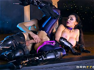 Aletta Ocean inserted with the monster man rod of Danny D