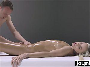 mischievous porking nuru massage with blondie perfection