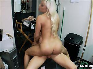 Britney Amber romped via the desk