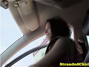 Hungarian hottie picked up and taken for a marvelous ride
