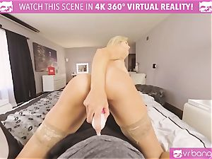 VRBangers.com-MILF is catapulting a hitachi in her vagina