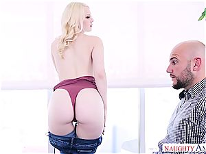 fabulous Lily Rader is getting a stiff revenge up her pussy